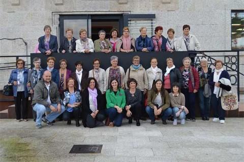 Infominho -  Trinta mulleres moa�esas visitan Tomi�o para co�ecer o seu mercado municipal e os viveiros - INFOMI�O - Informacion y noticias del Baixo Mi�o y Alrededores.
