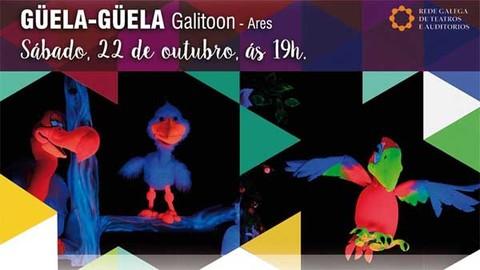 Infominho -  Galitoon presenta este s�bado no Teatro Municipal de Tui -G�ela-G�ela- - INFOMI�O - Informacion y noticias del Baixo Mi�o y Alrededores.