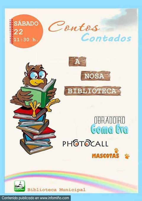 Infominho -  O deseño de Pablo Coballes e Anxo Sánchez, gañador do concurso -Mascota da Biblioteca- da Guarda - INFOMIÑO - Informacion y noticias del Baixo Miño y Alrededores.