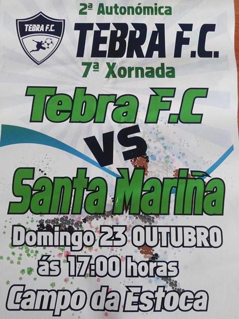 Infominho -  O Tebra FC xoga contra o Santa Mari�a este domingo no Campo da Estoca - INFOMI�O - Informacion y noticias del Baixo Mi�o y Alrededores.