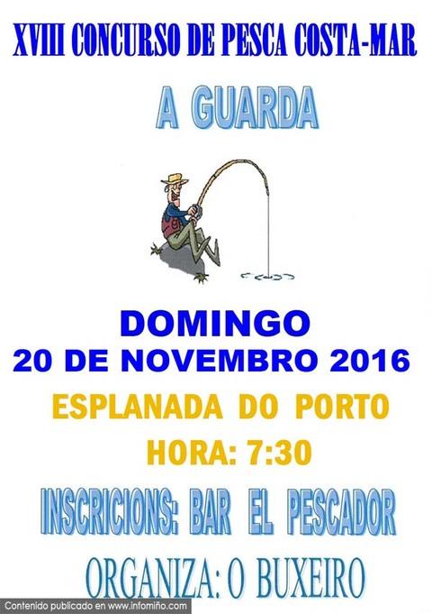 Infominho - O Buxeiro organiza un Concurso de Pesca o 20 de novembro - INFOMIÑO - Informacion y noticias del Baixo Miño y Alrededores.