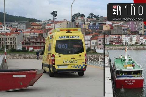 Infominho - Ferido un mariñeiro do Maresco Tres na Guarda - INFOMIÑO - Informacion y noticias del Baixo Miño y Alrededores.