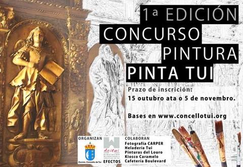 Infominho - O domingo 6 de novembro celébrase o I Concurso de Pintura -Pinta Tui- - INFOMIÑO - Informacion y noticias del Baixo Miño y Alrededores.