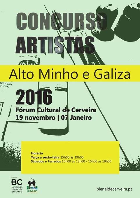 Infominho - Fundação Bienal de Arte de Cerveira anuncia sábado os prémios Concurso artistas do Alto Minho e Galiza - INFOMIÑO - Informacion y noticias del Baixo Miño y Alrededores.