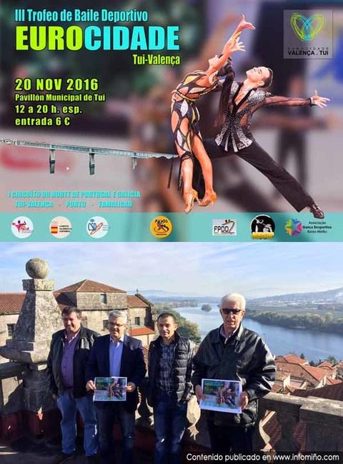 Infominho - Máis de 100 parellas participarán este domingo no III Trofeo de Baile Deportivo Eurocidade Tui-Valença - INFOMIÑO - Informacion y noticias del Baixo Miño y Alrededores.