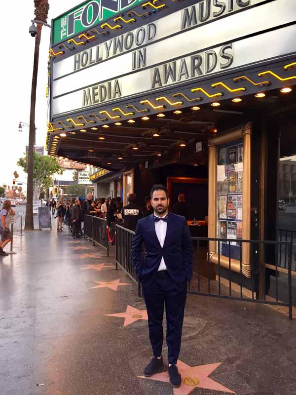 Infominho - Andrés Álvarez y su composición Symphonic Sketches triunfan en Hollywood - INFOMIÑO - Informacion y noticias del Baixo Miño y Alrededores.