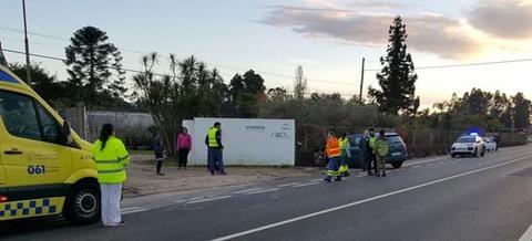 Infominho - Accidente de circulación entre dos vehículos en Figueiró - INFOMIÑO - Informacion y noticias del Baixo Miño y Alrededores.