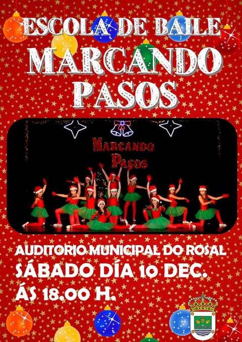 Infominho -  Marcando Pasos celebra o 10 de decembro un espectáculo de baile no Auditorio Municipal do Rosal - INFOMIÑO - Informacion y noticias del Baixo Miño y Alrededores.