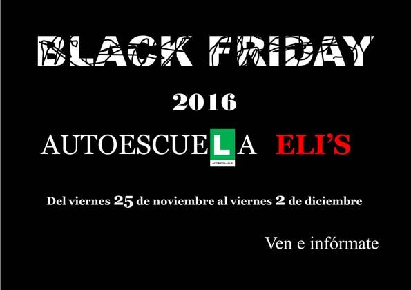 Infominho -  Black Friday en Auto-Escuela Eli´s en A Guarda - INFOMIÑO - Informacion y noticias del Baixo Miño y Alrededores.