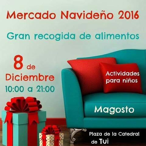 Infominho -  Tui se prepara para un Mercado Navideño el 8 de diciembre - INFOMIÑO - Informacion y noticias del Baixo Miño y Alrededores.