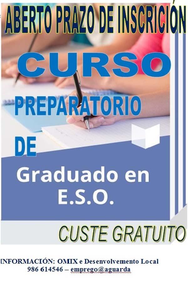 Infominho -   Aberto o prazo de inscrición para o curso preparatorio de Graduado en ESO de 2017 na Guarda  - INFOMIÑO - Informacion y noticias del Baixo Miño y Alrededores.