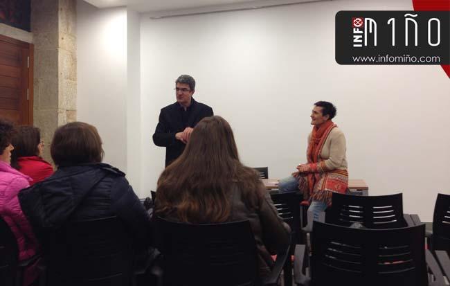 Infominho -  A Guarda acolleu a presentación do libro Alimentación Holística de Gloria Pérez - INFOMIÑO - Informacion y noticias del Baixo Miño y Alrededores.