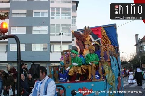 Infominho - Especial - Cabalgata de Reis Magos 2017 no Concello de A Guarda - INFOMIÑO - Informacion y noticias del Baixo Miño y Alrededores.