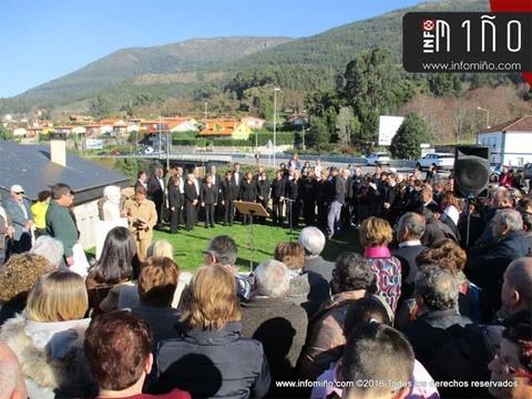 Infominho - Especial - Oia homenaxeou este domingo a Celedonio Crespo - INFOMIÑO - Informacion y noticias del Baixo Miño y Alrededores.