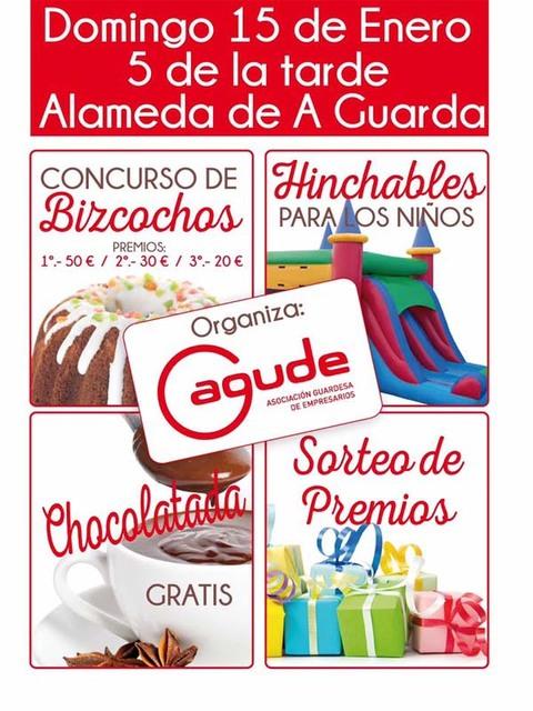 Infominho - Actividades de Agude para este domingo na Alameda de A Guarda - INFOMIÑO - Informacion y noticias del Baixo Miño y Alrededores.