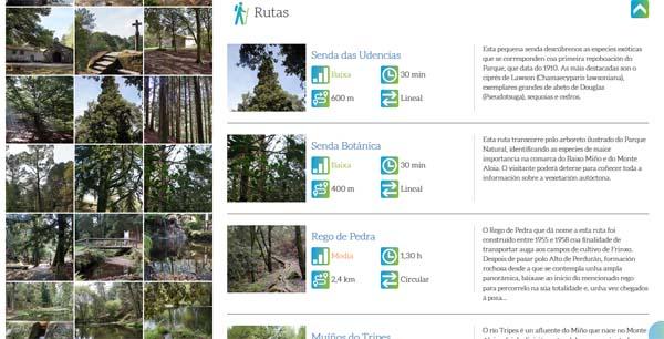 Infominho - Turismo de Galicia presenta a nova web de Parques Naturais cunha sección especial para o  Monte Aloia de Tui - INFOMIÑO - Informacion y noticias del Baixo Miño y Alrededores.