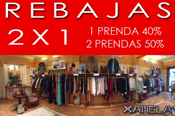 Infominho -  2x1 en las Rebajas de Xanela en A Guarda - INFOMIÑO - Informacion y noticias del Baixo Miño y Alrededores.