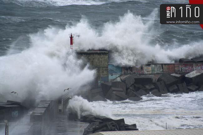 Infominho - A Guarda valora los desperfectos ocasionados por el temporal - INFOMIÑO - Informacion y noticias del Baixo Miño y Alrededores.