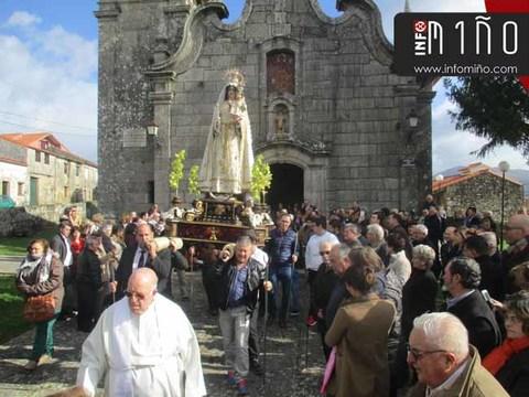 Infominho - Especial - Procesión Fiestas Virgen de la Salud y San Blas en San Juán de Tabagón - O Rosal - INFOMIÑO - Informacion y noticias del Baixo Miño y Alrededores.