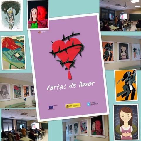 Infominho -  O Rosal trabaja a favor de la eliminación de la violencia de género con la Exposición -Cartas de Amor- - INFOMIÑO - Informacion y noticias del Baixo Miño y Alrededores.