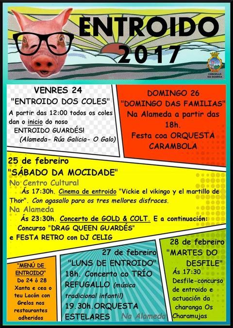 Infominho - Continúa o programa de actividades do Entroido guardés 2017 - INFOMIÑO - Informacion y noticias del Baixo Miño y Alrededores.