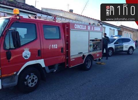 Infominho - GES de A Guarda sofoca un incendio en un anexo a una vivienda en Fedorento(A Guarda) - INFOMIÑO - Informacion y noticias del Baixo Miño y Alrededores.