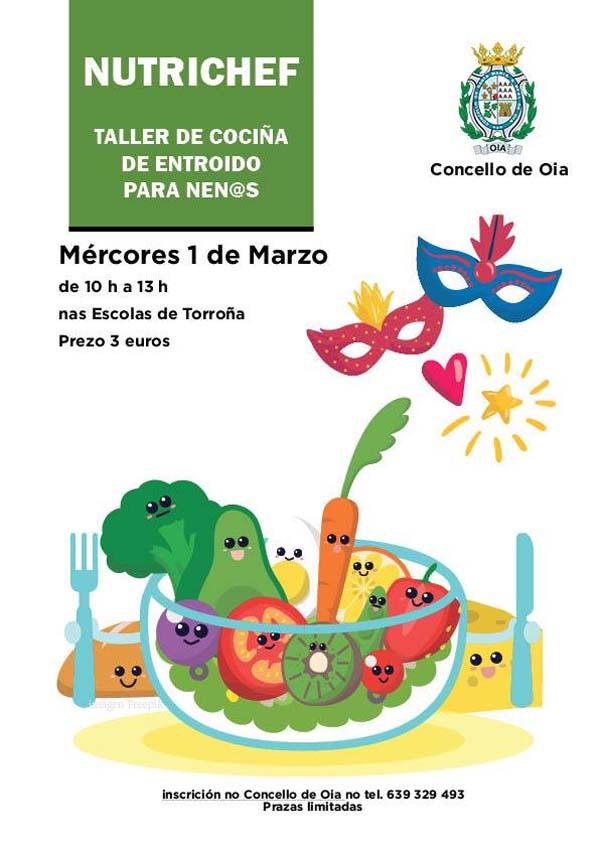 Infominho -  Nutrichef llega a Oia el 1 de Marzo - INFOMIÑO - Informacion y noticias del Baixo Miño y Alrededores.