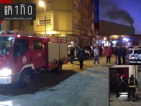 Infominho -  Una avería en una caldera de una comunidad moviliza a los efectivos de emergencias en A Guarda - INFOMIÑO - Informacion y noticias del Baixo Miño y Alrededores.