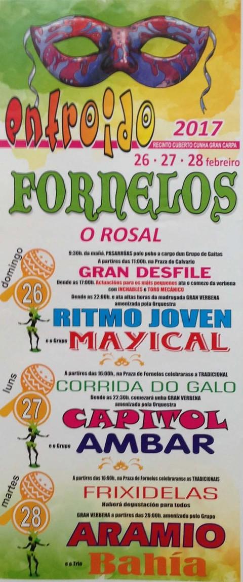 Infominho -  O Entroido de Fornelos regresa do 26 ó 28 de febreiro de 2017 - INFOMIÑO - Informacion y noticias del Baixo Miño y Alrededores.
