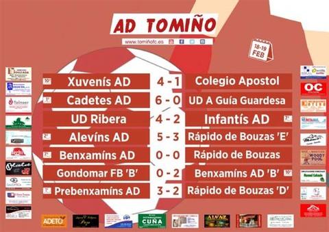 Infominho -  Benxamíns AD Tomiño -B- desfrutan do seu primeiro triunfo. - INFOMIÑO - Informacion y noticias del Baixo Miño y Alrededores.