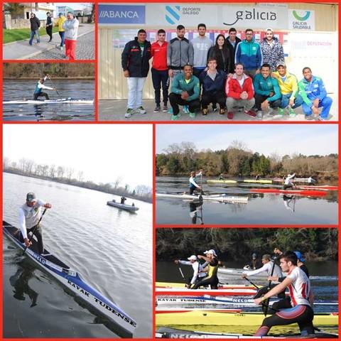 Infominho - El equipo brasileño se entrena con el Kayak Tudense - INFOMIÑO - Informacion y noticias del Baixo Miño y Alrededores.