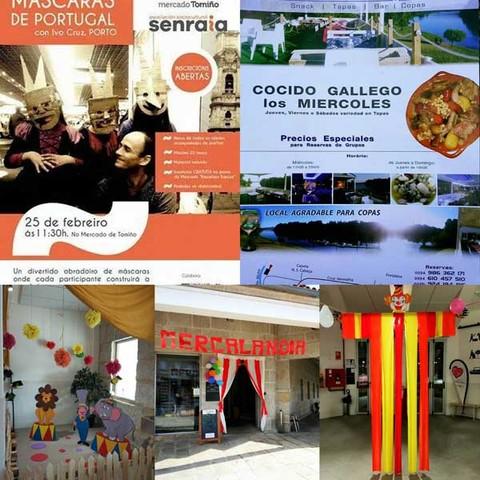 Infominho -  O Mercado de Tomiño festexa o entroido con varias actividades - INFOMIÑO - Informacion y noticias del Baixo Miño y Alrededores.