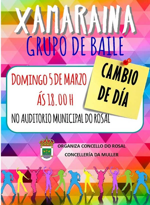 Infominho - Xamaraina actúa este domingo no Auditorio Municipal do Rosal - INFOMIÑO - Informacion y noticias del Baixo Miño y Alrededores.