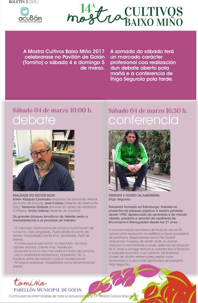 Infominho - A Mostra de Cultivos adicará a xornada deste sábado a actividades profesionais - INFOMIÑO - Informacion y noticias del Baixo Miño y Alrededores.