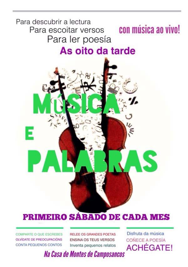 Infominho - A Comunidade de Montes de Camposancos organiza eventos de poesía -Música e palabras- - INFOMIÑO - Informacion y noticias del Baixo Miño y Alrededores.