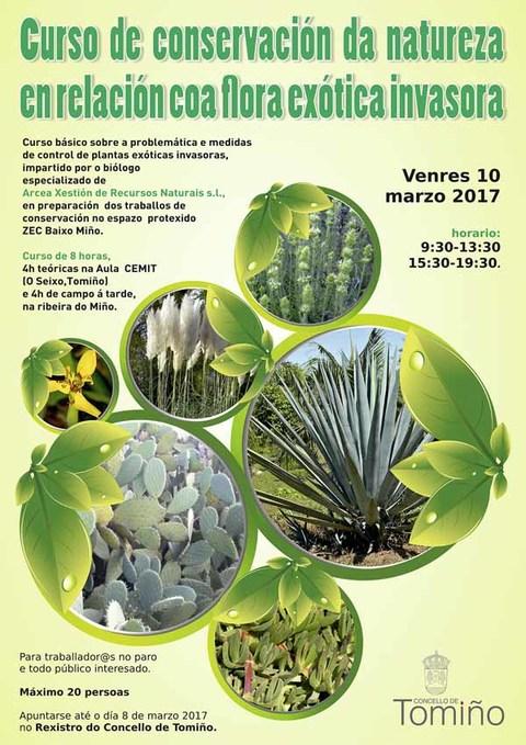 Infominho - Tomiño organiza un curso gratuíto de conservación da natureza en relación coa flora exótica invasora - INFOMIÑO - Informacion y noticias del Baixo Miño y Alrededores.
