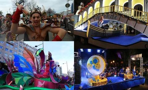 Infominho - As comparsas tomiñesas arrasan cos premios en Santiago de Compostela, Vigo e arredores - INFOMIÑO - Informacion y noticias del Baixo Miño y Alrededores.