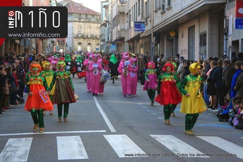 Infominho - O Desfile – Concurso de Entroido da Guarda celébrase este sábado 4 de marzo  - INFOMIÑO - Informacion y noticias del Baixo Miño y Alrededores.