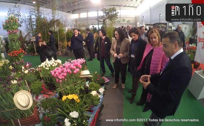 Infominho - Especial - O viveirismo amosou as súas novidades na XIV Mostra de Cultivos do Baixo Miño - INFOMIÑO - Informacion y noticias del Baixo Miño y Alrededores.