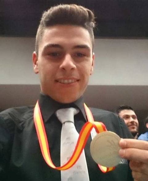Infominho - O Rosaleiro Raúl Fernández Lorenzo proclámase Campión do SpainSkills 2017 - INFOMIÑO - Informacion y noticias del Baixo Miño y Alrededores.