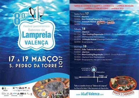 Infominho - Cinco Sabores da Lampreia em Valença: Três Dias no Maior Festival Gastronómico do Mundo - INFOMIÑO - Informacion y noticias del Baixo Miño y Alrededores.