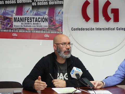 Infominho - A CIG chama a mobilizarse, este 10 de Marzo, para derrotar as contrarreformas e recuperar os dereitos - INFOMIÑO - Informacion y noticias del Baixo Miño y Alrededores.