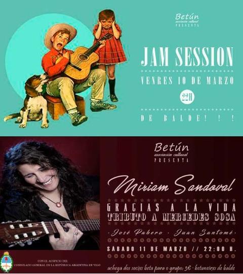 Infominho - Betún recibe este sábado a la cantautora María Sandoval con su Tributo a Mercedes Sosa - INFOMIÑO - Informacion y noticias del Baixo Miño y Alrededores.