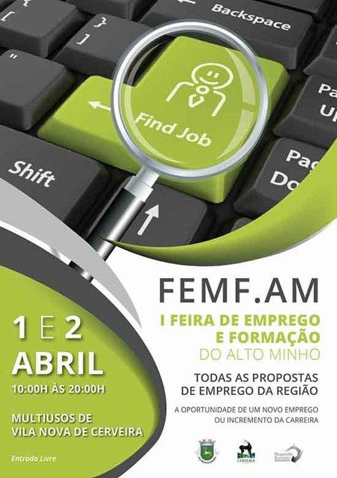 Infominho - 1ª Feira de Emprego e Formação do Alto Minho a 1 e 2 de abril - INFOMIÑO - Informacion y noticias del Baixo Miño y Alrededores.