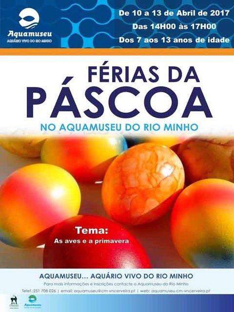 Infominho - Vem divertir-te nas Férias da Páscoa no Aquamuseu! - INFOMIÑO - Informacion y noticias del Baixo Miño y Alrededores.