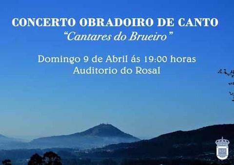 Infominho - Concerto obradoiro de canto -Cantares do Brueiro- no Rosal - INFOMIÑO - Informacion y noticias del Baixo Miño y Alrededores.