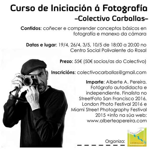 Infominho - Novas actividades no Rosal da man do Colectivo Carballas - INFOMIÑO - Informacion y noticias del Baixo Miño y Alrededores.