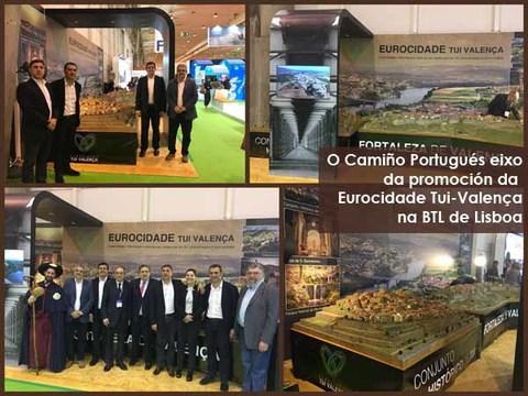 Infominho - O Camiño Portugués eixo da promoción da Eurocidade Tui-Valença na BTL de Lisboa - INFOMIÑO - Informacion y noticias del Baixo Miño y Alrededores.