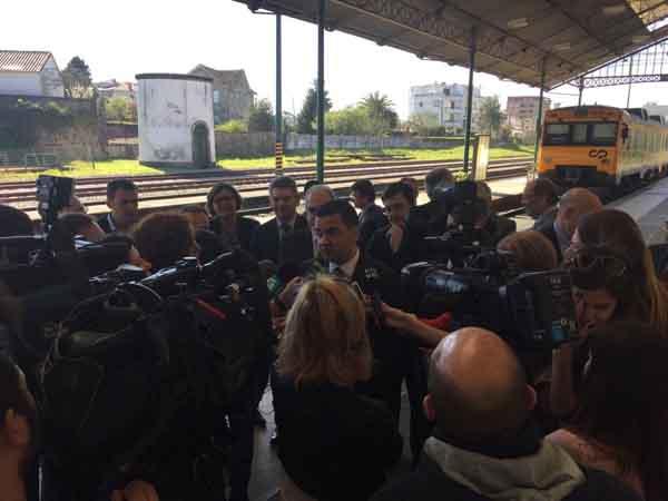 Infominho - O deputado provincial Santos Héctor reclama a saída sur de Vigo para a conexión ferroviaria con Portugal - INFOMIÑO - Informacion y noticias del Baixo Miño y Alrededores.