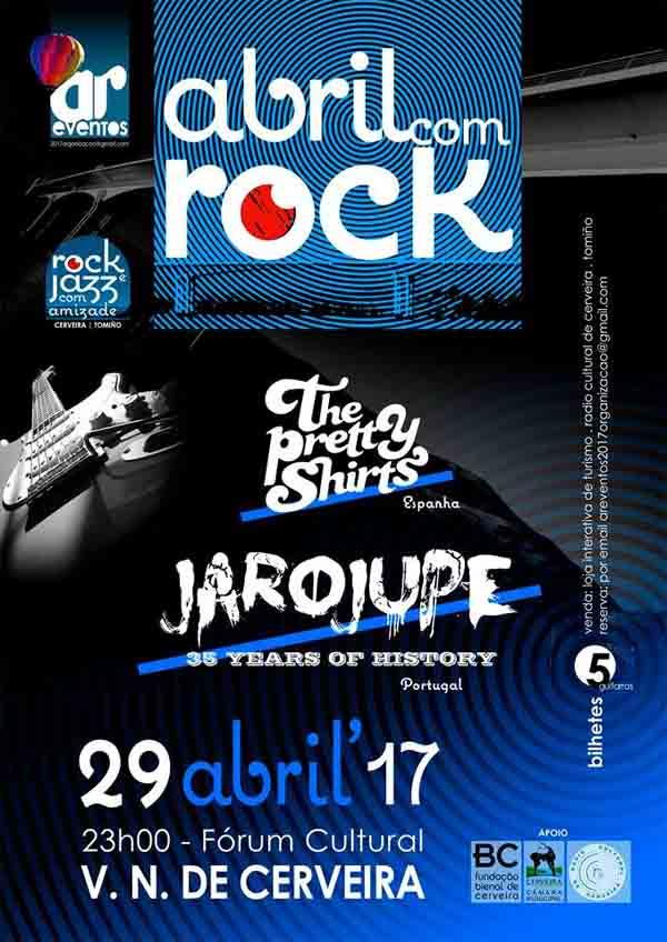 Infominho - Abril com Rock o 29 de Abril em Vila Nova de Cerveira - INFOMIÑO - Informacion y noticias del Baixo Miño y Alrededores.
